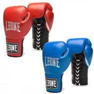 """Photo de Gant de boxe à lacet Leone 1947 \\""""The One\\"""" cuir Spécial Anniversaire pour Gant de Boxe GN101L"""