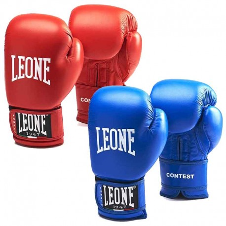 Leone 1947 Boxing gloves CONTEST leather images, photos, pictures on Boxing Gloves GN010