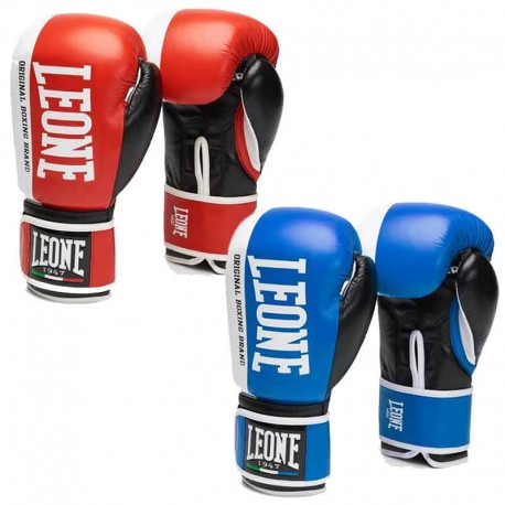 Leone 1947 Boxing gloves CHALLENGER leather images, photos, pictures on Boxing Gloves GN201