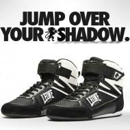 """Photo de Chaussure de boxe anglaise Leone 1947 \\""""Shadow\\"""" pour Chaussures de boxe CL187"""