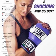 Leone 1947 Boxing gloves leather Shock fushia