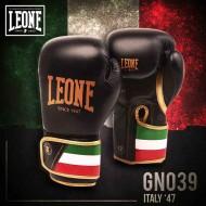 Photo de Gant de boxe cuir Leone 1947 'ITALIE' Noir pour Gant de Boxe GN039