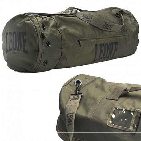 """Leone 1947 sport bag \\""""Commando\\"""" green images, photos, pictures on Sport bag AC903"""