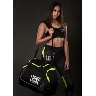"""Photo de Sac de sport Leone 1947 \\""""Round bag\\"""" pour  sac de sport boxe AC935"""