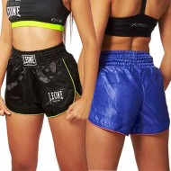 "Woman Kick-Thai boxing Shorts \""BASIC\\"" Leone 1947 images, photos, pictures on Thaï short AB801"