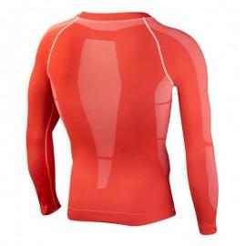 Leone 1947 Long shirt seamless man Red