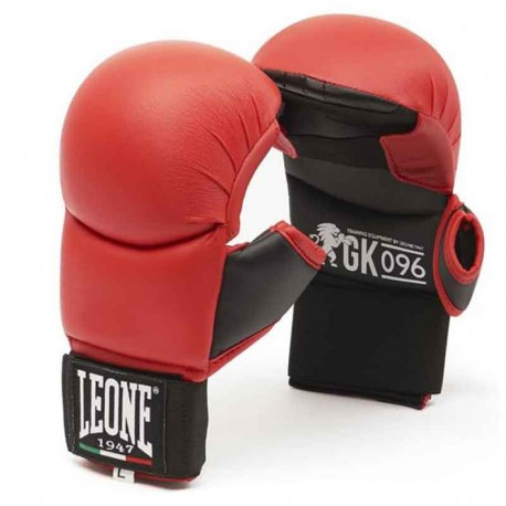 Leone 1947 Gloves Karate Red images, photos, pictures on Undergloves - Karate & Fitness Gloves GK096