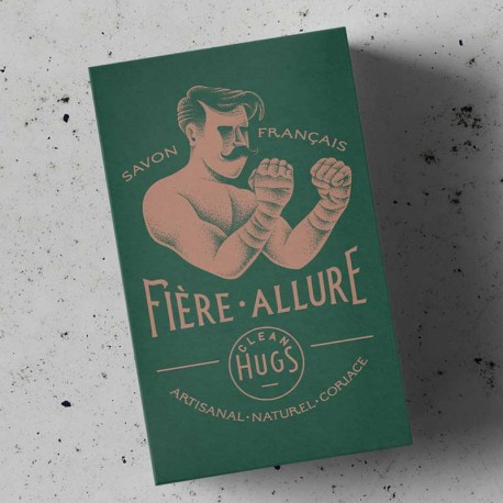 "Soap \""Fière Allure\\"" Clean Hugs images, photos, pictures on Hygiene & Care SAVON FIERE"