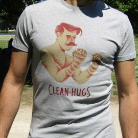 "T-shirt ""The Boxer"" Clean Hugs"