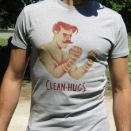 "T-shirt \""The Boxer\\"" Clean Hugs images, photos, pictures on Tee-Shirt  T-SHIRT CLEAN"