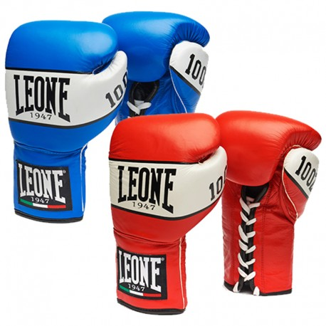 "Leone 1947 Boxing gloves \""Shock\\"" with laces images, photos, pictures on Boxing Gloves GN047 L"