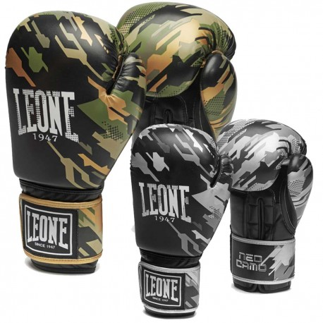 Leone 1947 Boxing gloves Neo Camo images, photos, pictures on Boxing Gloves GN305