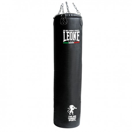 "Leone 1947 Heavy bag \""BASIC\\"" 55kg Black images, photos, pictures on Bpxing Heavy Bags AT842"