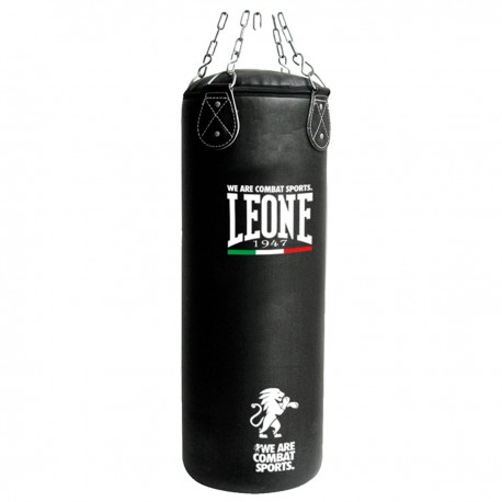 """Leone 1947 Heavy bag \\""""BASIC\\"""" 55kg Black images, photos, pictures on Bpxing Heavy Bags AT840"""
