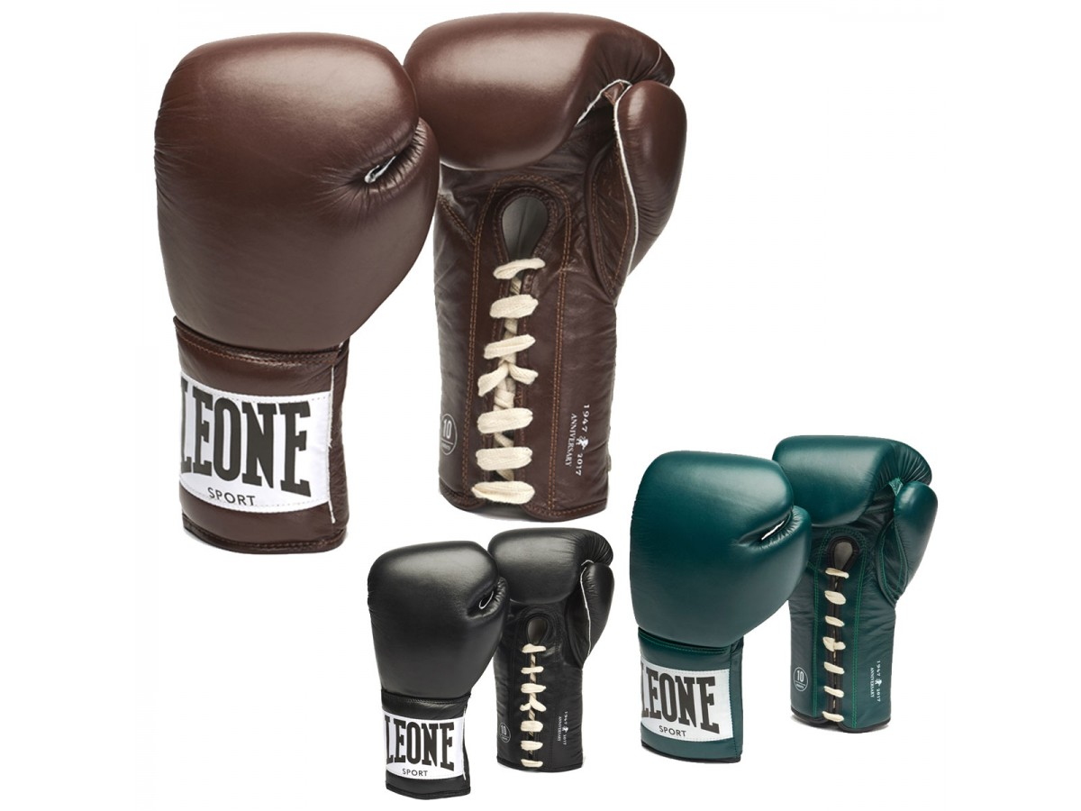 LEONE 1947 Blue Gloves And Boxing Gloves