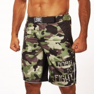 Leone 1947 MMA Short CAMO images, photos, pictures on MMA & Val Tudo Shorts AB792