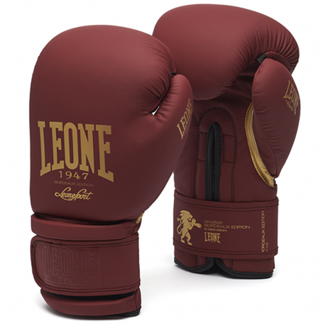 """Leone 1947 Boxing gloves \\""""Bordeaux Edition\\"""" images, photos, pictures on Boxing Gloves GN059X"""
