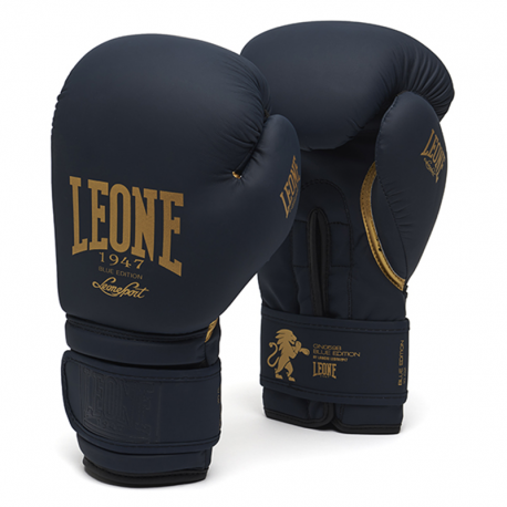 "Leone 1947 Boxing gloves \""Blue Edition\\"" images, photos, pictures on Boxing Gloves GN059B"