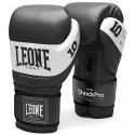 Leone 1947 Boxing gloves Shock black leather
