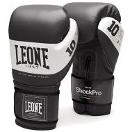 Leone 1947 Boxing gloves Shock black leather images, photos, pictures on Boxing Gloves GN108