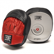 "Small curved Mitts Leone 1947 \""SPEED LINE\\"" images, photos, pictures on Kicking Shields [ Thai & Kick Pads 