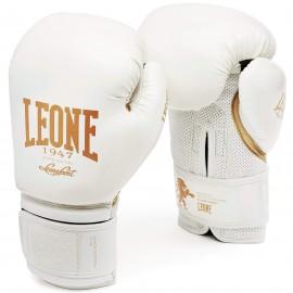 """Leone 1947 Boxing gloves """"Black and White"""" white"""