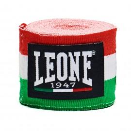 bleu LEONE 1947 AB705 Bandes de boxe coton 2,5m