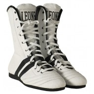 Leone 1947 Boxing Shoes White