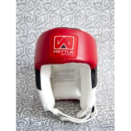 Wettle Pro Boxing  headguard red