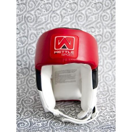 """Photo de Casque de boxe Wettle Sport \\""""Classic\\"""" rouge pour Haut du corps CPW30-RED"""