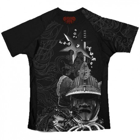 Wicked One Rashguard Samouraï Black images, photos, pictures on MMA Rashguards H13FRS