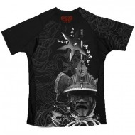 "Photo de Rashguard Wicked One \""Samouraï\\"" noir pour Rashguard H13FRS"