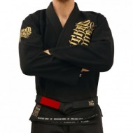 Wicked One Kimono JJB Gold Black images, photos, pictures on JJB Kimono & Belts KI-WO-NA02