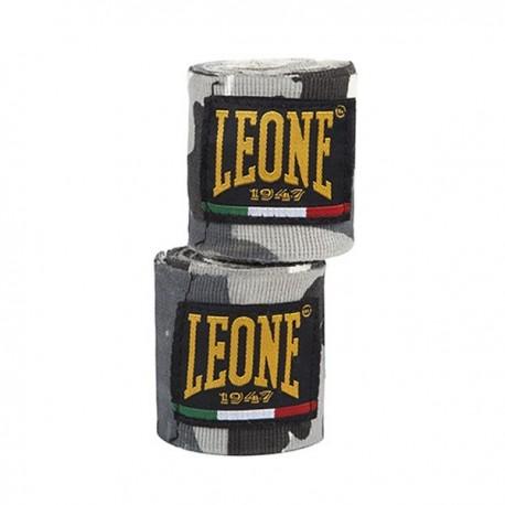 Photo de Bandes de Boxe Leone 1947 camouflage Gris pour bande boxe AB705