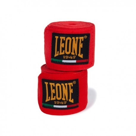 Photo de Bandes de boxe Leone 1947 rouge pour bande boxe AB705Rouge