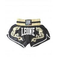 Photo de Short Thaï Leone 1947 Royal Noir pour short kick boxing | short boxe thai AB749