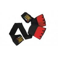 Photo de Sous gants de Boxe Leone 1947 Rouge pour Sous-gants AB711ROUGE