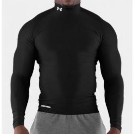 Under Armour Compression Shirt  ColdGear  black Langarm