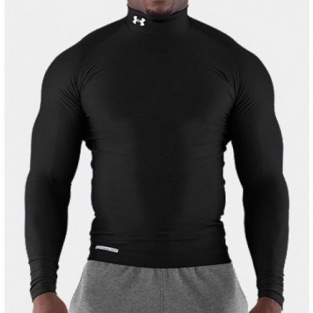 Under Armour Compression Shirt ColdGear black Langarm images, photos, pictures on Old Collection UARGCOLD-SS