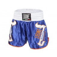 Leone 1947 Boxing Short Thai - Kick T-THAI blue images, photos, pictures on Thaï short AB747
