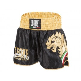 Leone 1947 Shorts Kick-Thai  'WING' Black