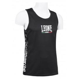 Leone 1947 Boxing Tee-Shirt Polyester breathable Black images, photos, pictures on Tee-Shirt Boxe Anglaise AB726