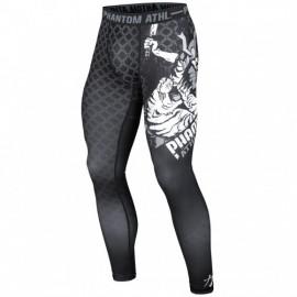 """Pantalon de compression Phantom """"Samuraï"""" Noir"""
