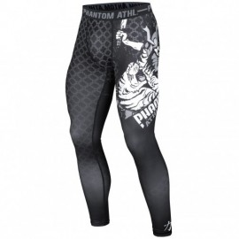 "PHANTOM  MMA Compression Legging ""Samuraï"" Schwarz"