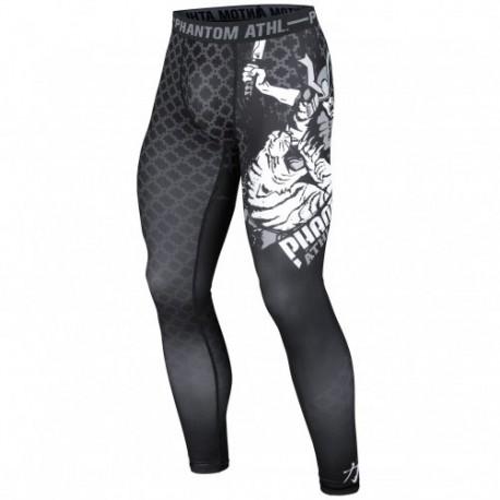 """Photo de Pantalon de compression Phantom \\""""Samuraï\\"""" Noir pour Pantalon de compression Pant-Compression"""