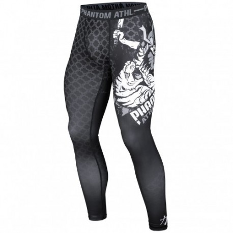"Phantom Athletics Compression Legging \""Samurai\\"" Black images, photos, pictures on Compression Legging Pant-Compression"