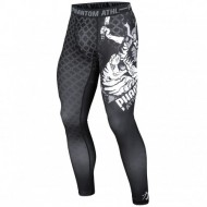 "Photo de Pantalon de compression Phantom \""Samuraï\\"" Noir pour Pantalon de compression Pant-Compression"