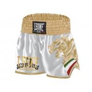 Leone 1947 Wing  Kick-Thai Shorts White