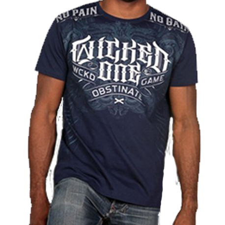 Wicked One Tee-shirt Punishement blue images, photos, pictures on Tee-Shirt  2013THP2