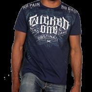 Photo de Tee-shirt Wicked One Punishement Bleu Coton pour Tee-Shirt 2013THP2